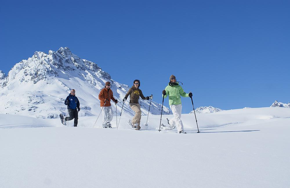Hotel Verwall in Ischgl: Winter Walking